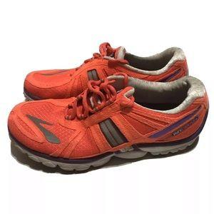 Brooks Pure Cadence Womens 9.5 Orange Shoes